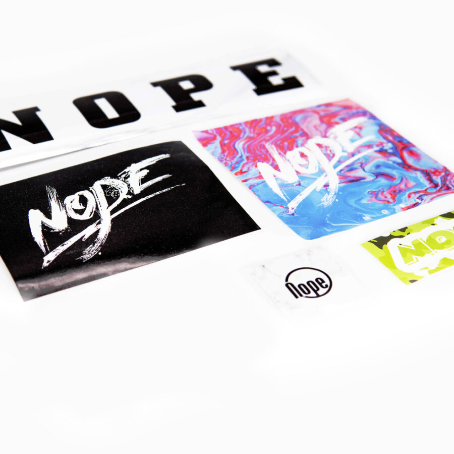 [Mr. Nope] Sticker Set
